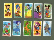 TRADE  cards, Snow White , Mickey Mouse, Dumbo,Bambi,Cinderella, &etc